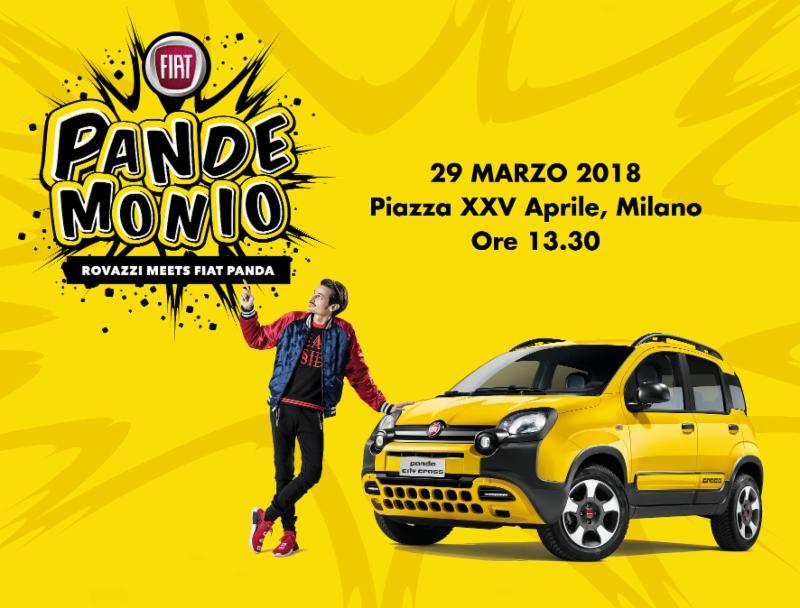 Oggi a Milano Pandemonio, con Panda e Rovazzi