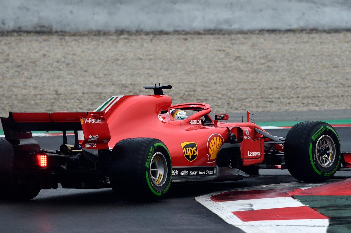F1Testing: team in azione a Barcellona
