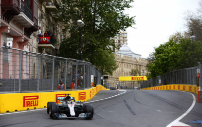 Baku: tante strategie, ma la safety car decide tutto