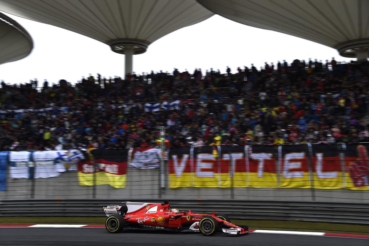 Cina: la Ferrari punta verso l'alto a Shanghai