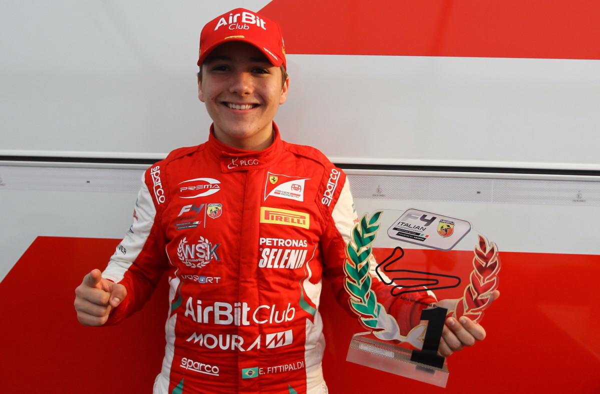 Formula 4: Enzo Fittipaldi subito al top!