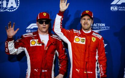 Bahrain: il punto Ferrari sulla prima fila Rossa