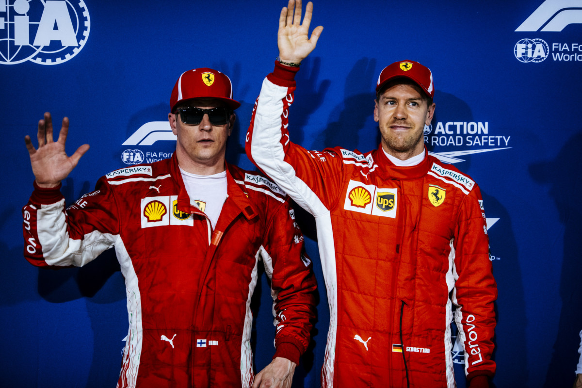 Qualifiche F1 in Cina, prima fila Ferrari con Vettel in pole position