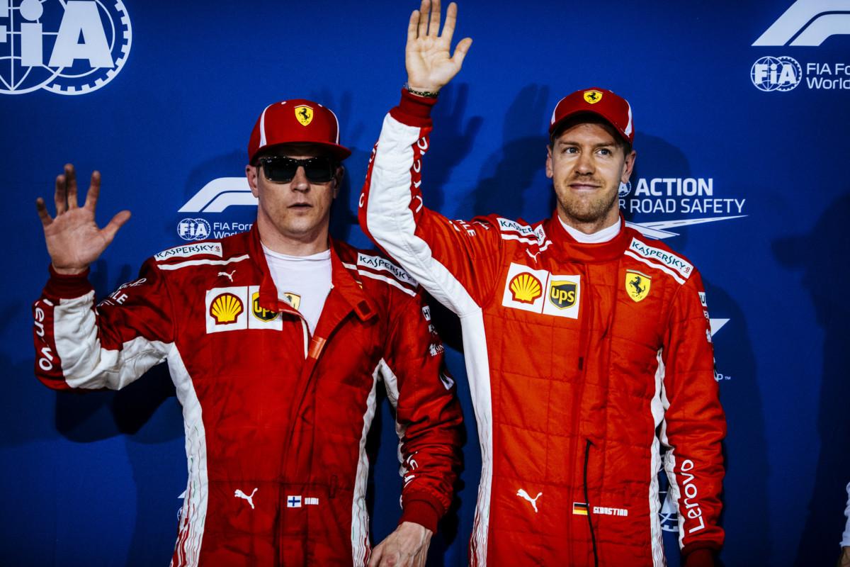 Bahrain il punto Ferrari sulla prima fila Rossa