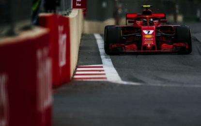 Baku: la Ferrari sperava in più di un 2° e 4° posto