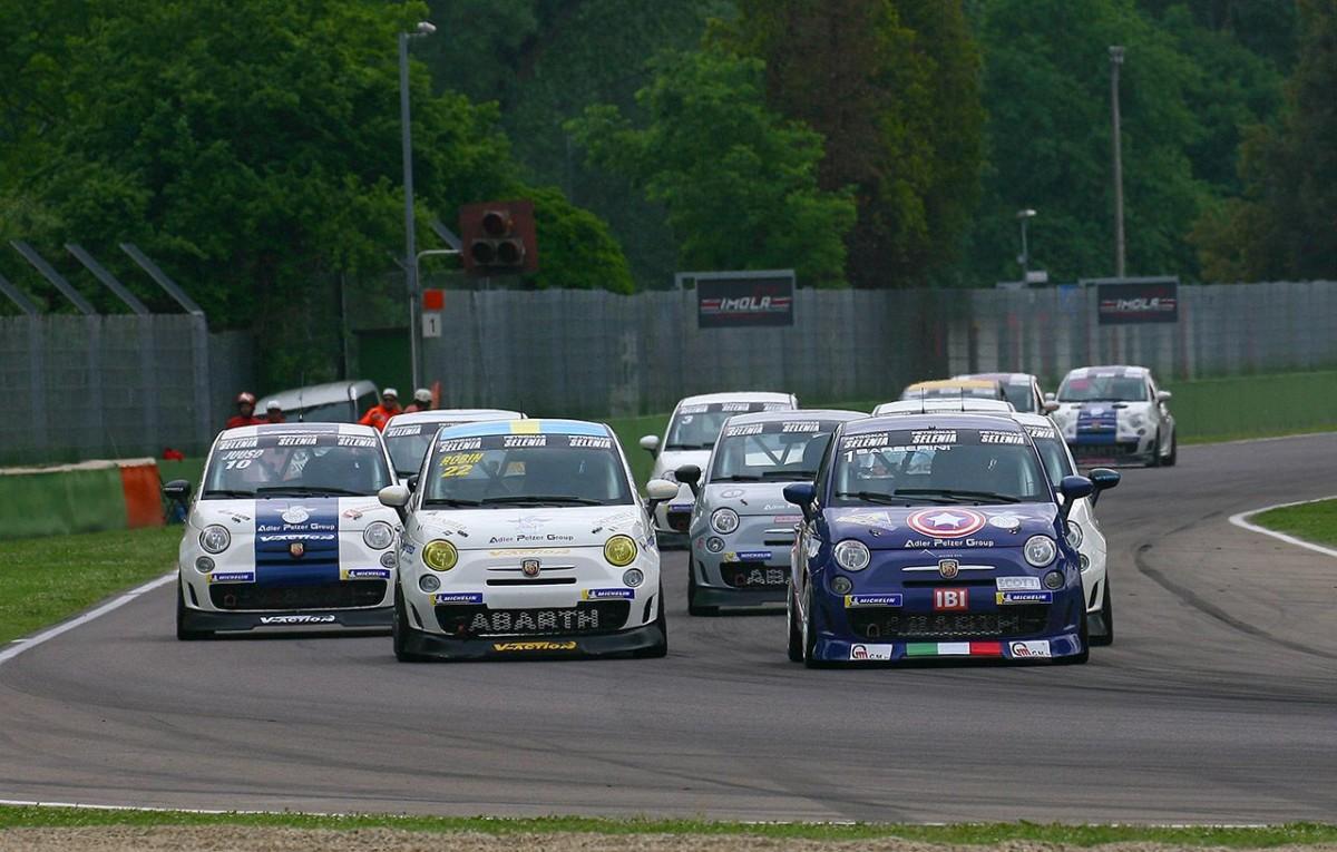 Trofeo Abarth: doppio successo di Barberini a Imola