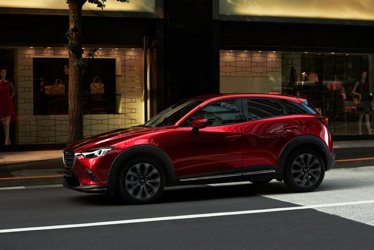 Mazda svela il nuovo CX-3 2018