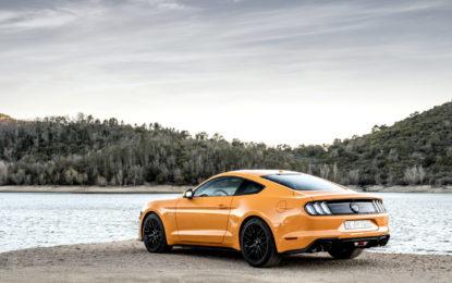Ford Italia alLucca Comics and Games con Mustang