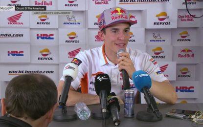 """Marquez: """"Ho sbagliato e servirà per il futuro"""""""