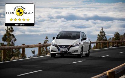 Euro NCAP: 5 stelle per la LEAF e novità nei crash test