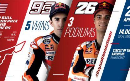 MotoGP: Pedrosa in pista con Marquez ad Austin