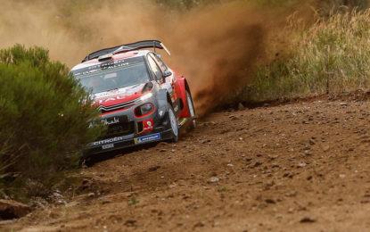 Argentina: C3 WRC seconda e terza nello shakedown