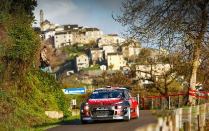 Le Citroën C3 WRC pronte per la sfida in Corsica