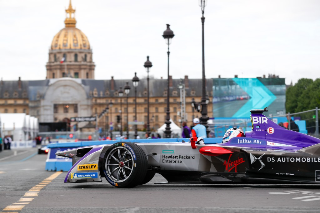 Formula E: podio per DS e Sam Bird a Parigi