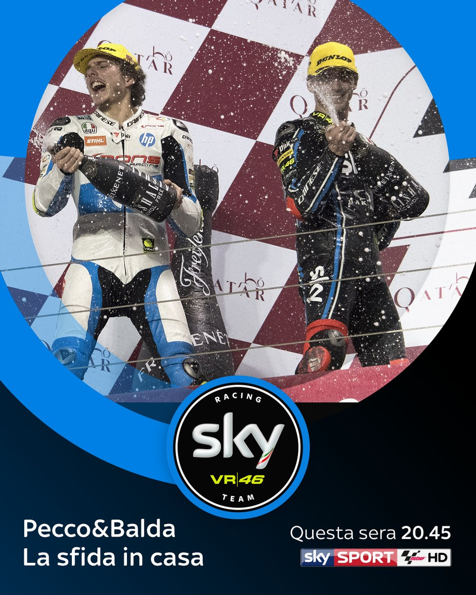 "Stasera su Sky speciale ""Pecco & Balda, la sfida in casa"""