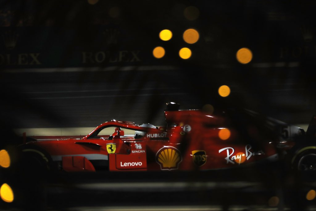 Bahrain: prima fila Vettel-Raikkonen, terzo Bottas