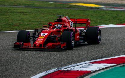 Cina: prima fila Ferrari con pole record di Vettel