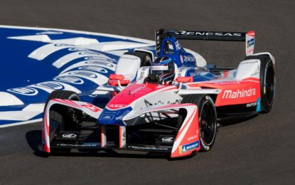La Formula E all'Historic Minardi Day con Heidfeld