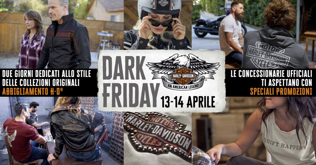 Harley-Davidson Dark Friday