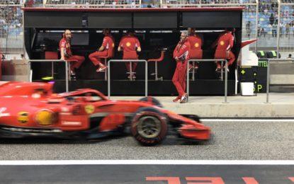 Bahrain: le dichiarazioni degli uomini Ferrari