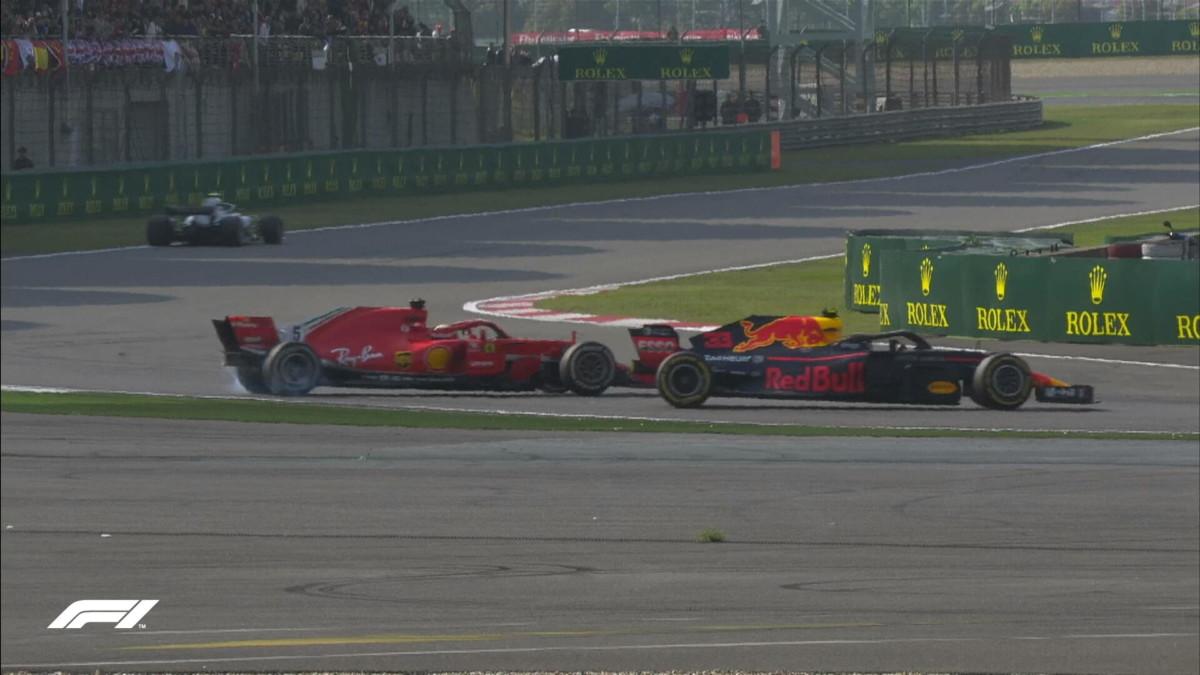 Vettel, Verstappen e il chiarimento: una lezione a Rossi