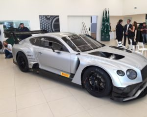 Bentley Continental GT3 pronta per il debutto a Monza