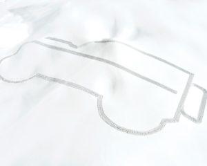 Il profilo del Defender nella neve a 2.700 metri