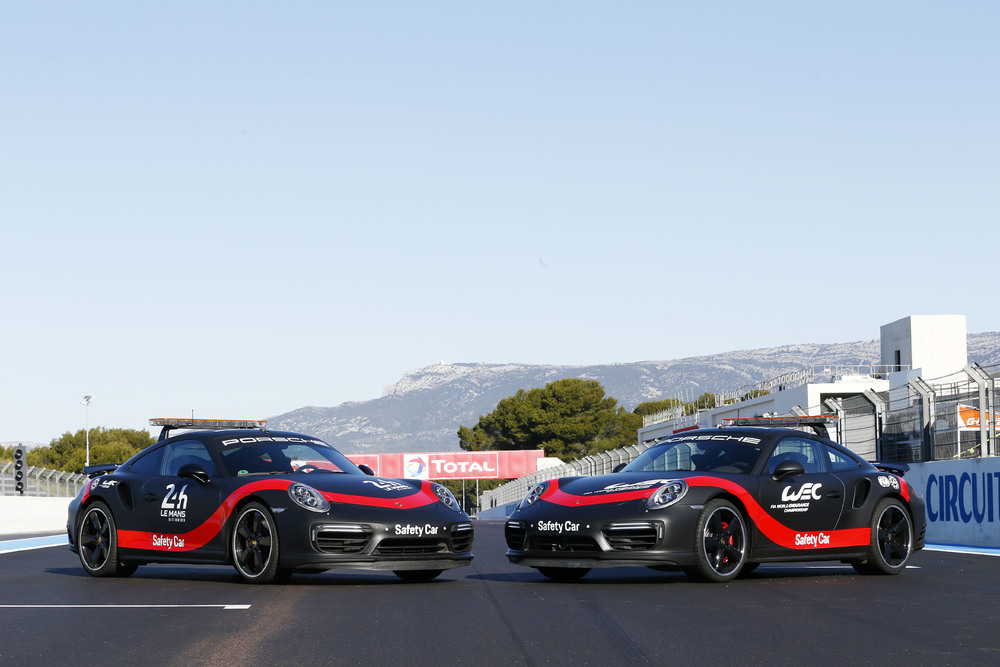 WEC: safety car e auto di supporto Porsche fino al 2020