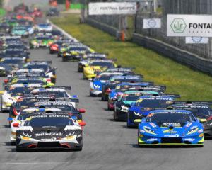 Lamborghini: Postiglione e Basz vincono Gara 2