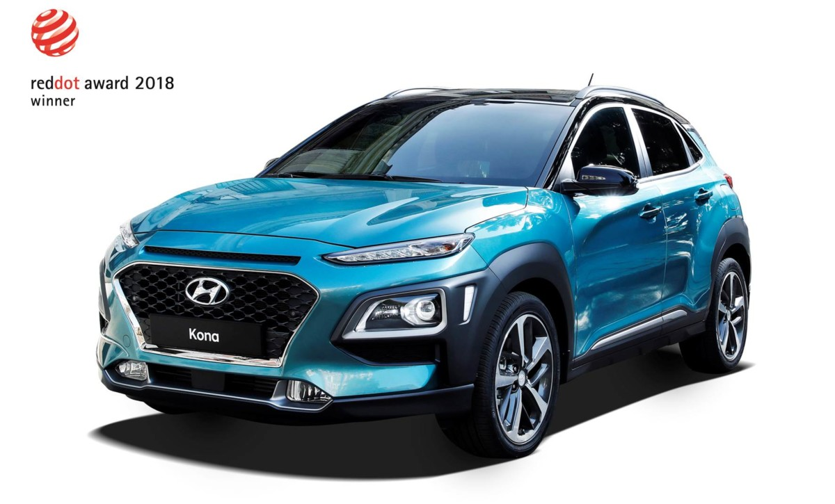 Hyundai Kona e NEXO premiate ai Red Dot Design Awards