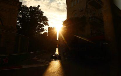 GP dell'Azerbaijan: gli orari del weekend in TV
