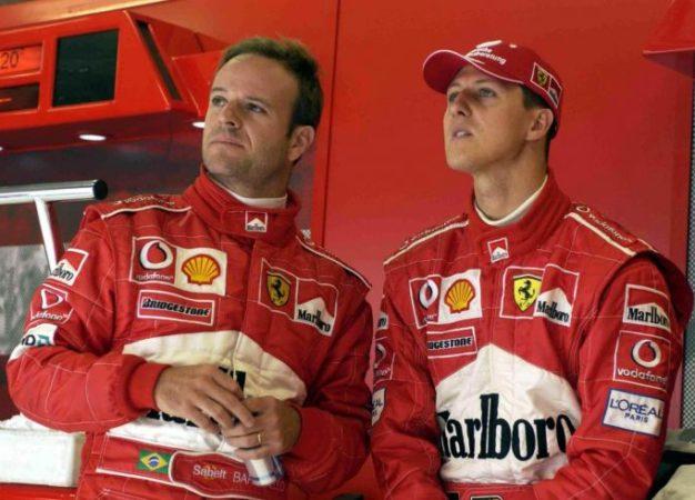 A Barrichello impedito di vedere Schumacher