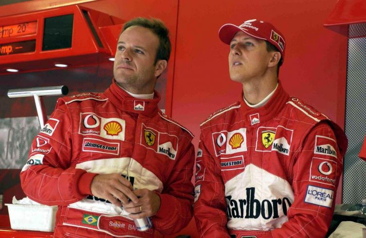 A Barrichello impedito di vedere Schumacher