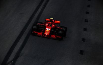 Piloti Ferrari soddisfatti della prima giornata a Baku