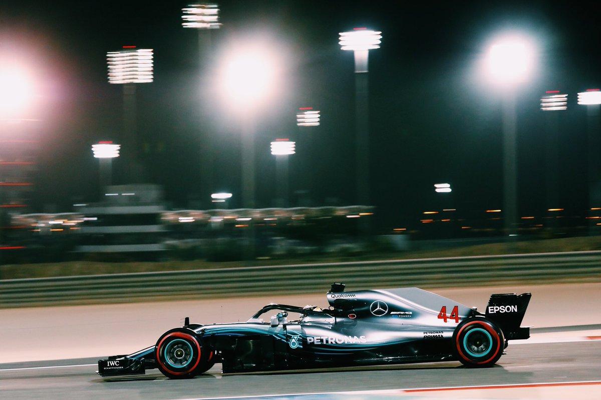 Bahrain: penalità in griglia per Hamilton