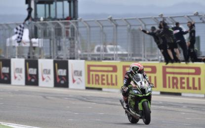 Superbike: ad Aragon Gara 1 a Jonathan Rea