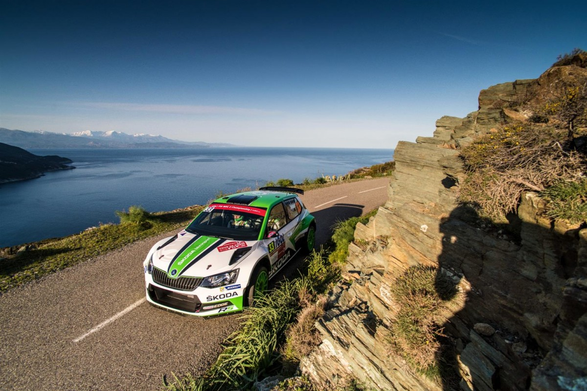In Corsica un'altra vittoria per ŠKODA Motorsport