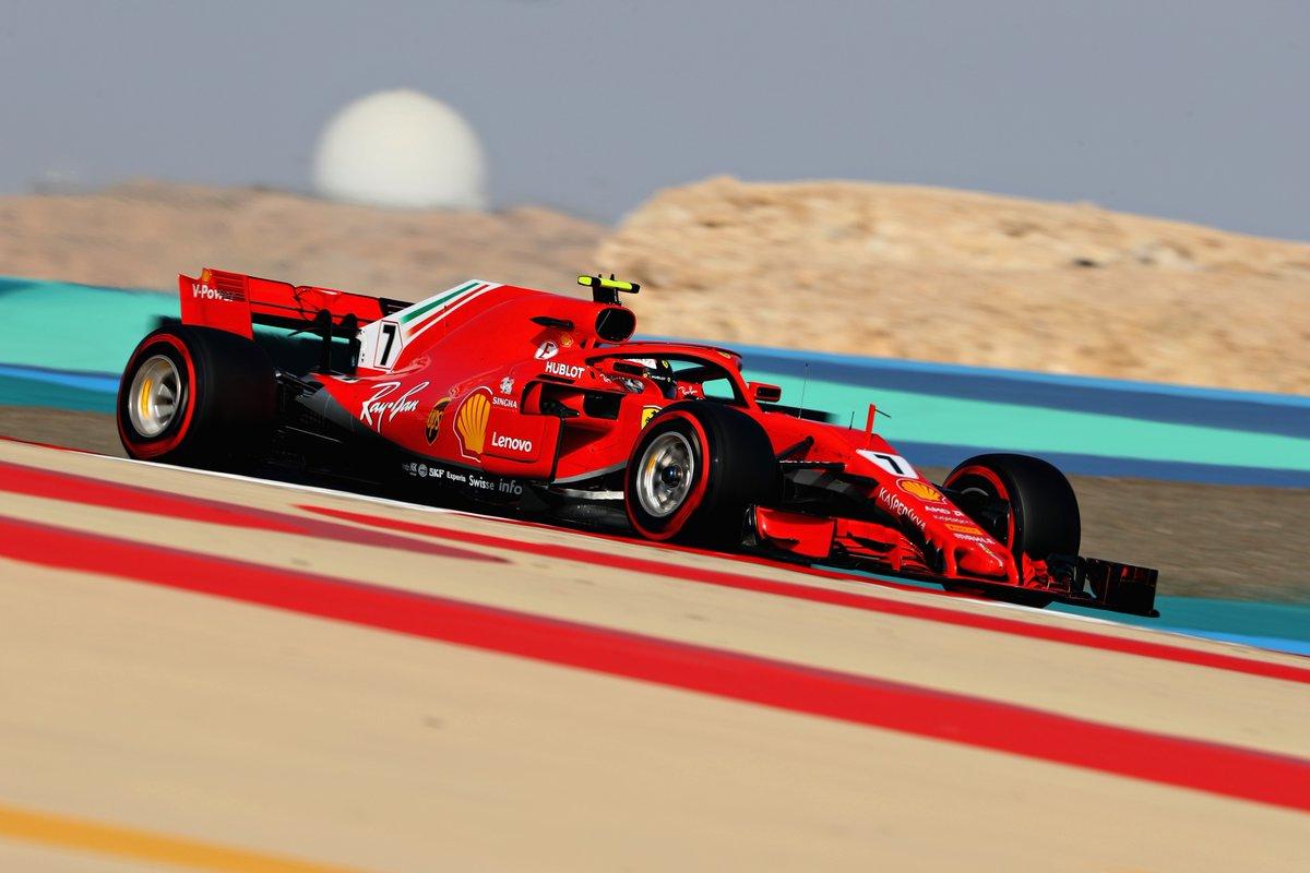 Bahrain: Raikkonen davanti alle Red Bull nelle FP3