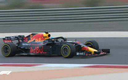 Bahrain: Ricciardo più veloce nelle FP1