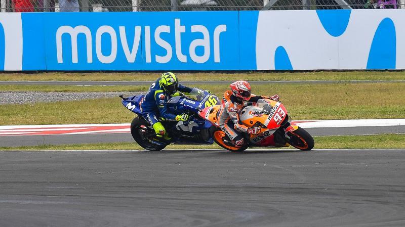 "Rossi: ""Marquez pericoloso, bisogna intervenire"""