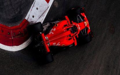 Vettel-Hamilton nelle FP3 a Baku