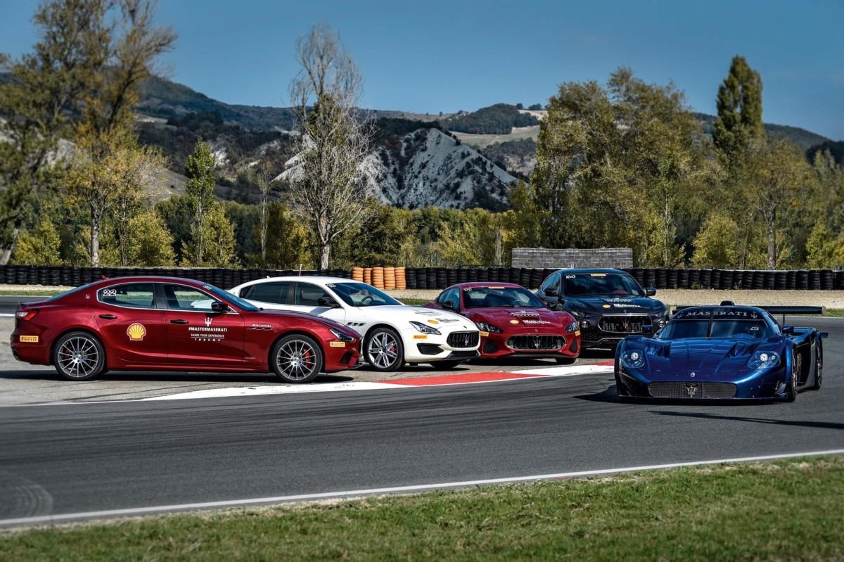 Nuovi corsi di guida Master Maserati