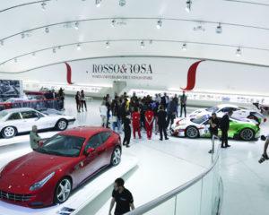 """Al Museo Ferrari la mostra """"Il Rosso & il Rosa"""""""