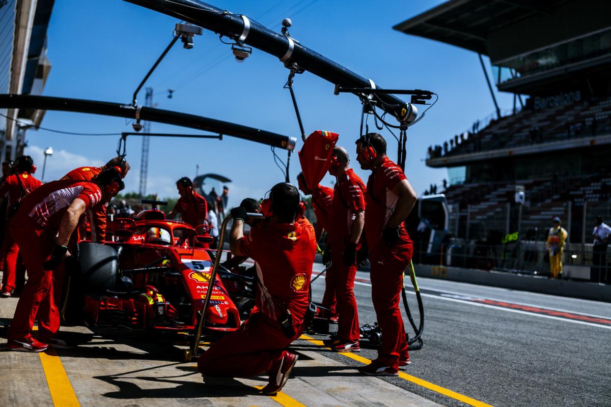 Spagna: la Ferrari spera in un sabato più competitivo