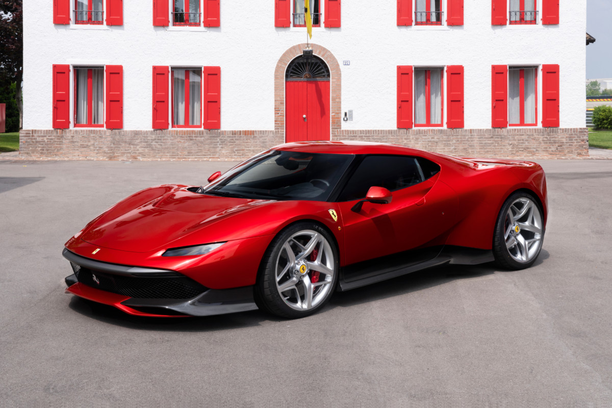 Ferrari SP38, ultima nata del programma One-Off