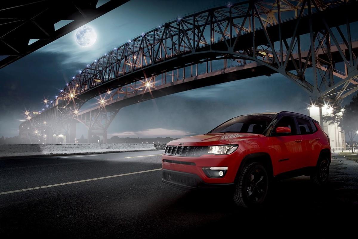 Jeep Compass Night Eagle e le offerte di maggio