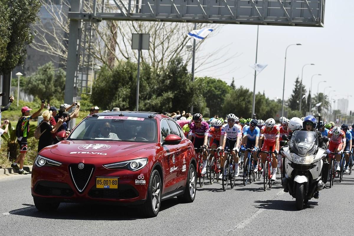 Alfa Romeo Giulia e Stelvio al Giro d'Italia 2018