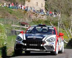 Weekend intenso per i piloti Abarth