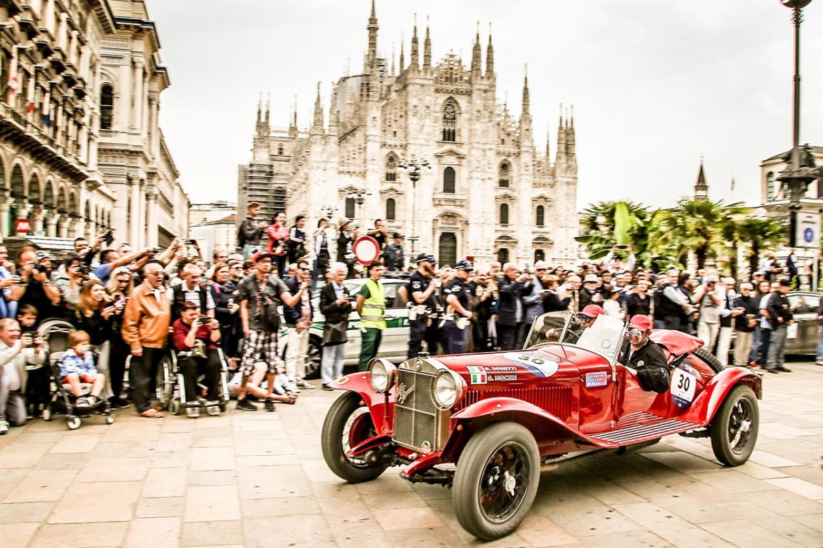 Trionfo Alfa Romeo alla Mille Miglia 2018