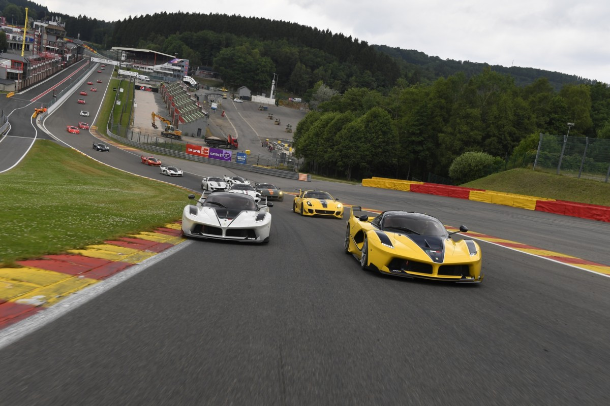 Spa pronta per il grande show dei Ferrari Racing Days